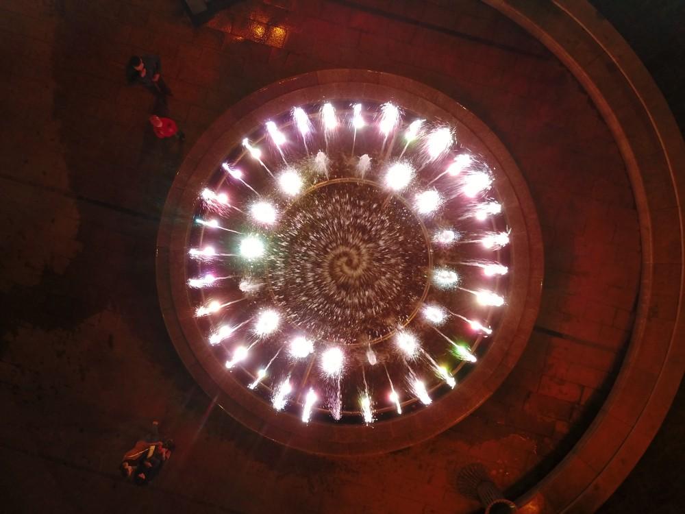 На Майдані Незалежності розпочався сезон фонтанів