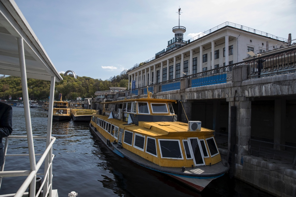 Річковий трамвай поєднає столицю із іншими містами по Дніпру