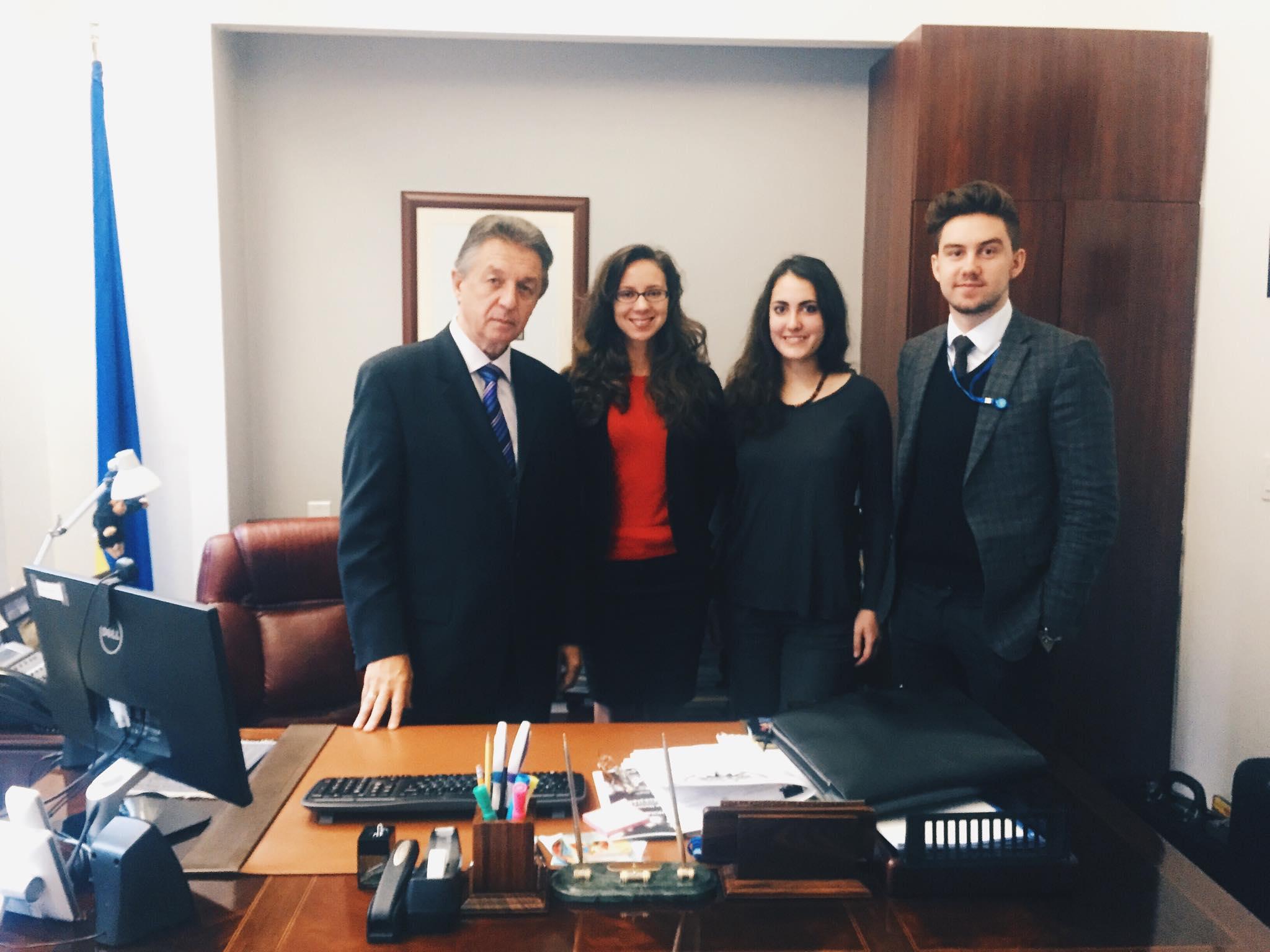 Голос української молоді в ООН
