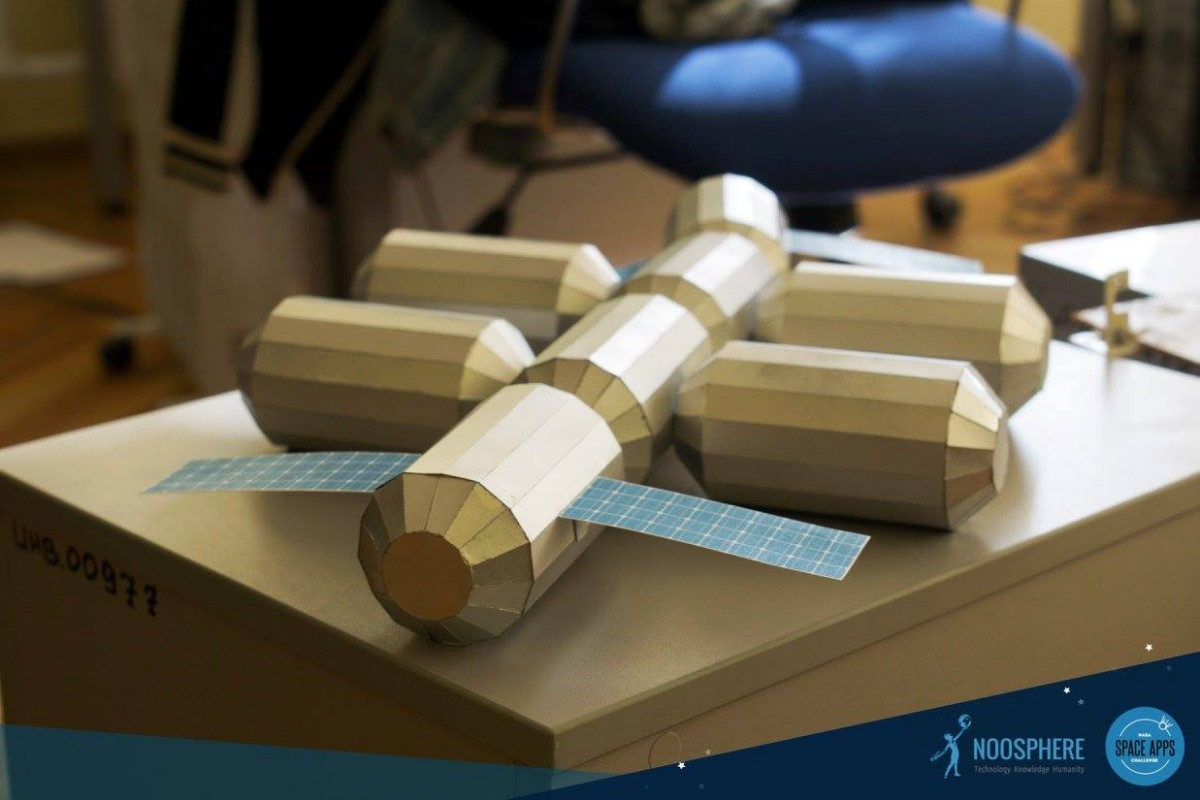 Ukraїnśka modeľ uvijšla do TOP-10 hakatonu NASA