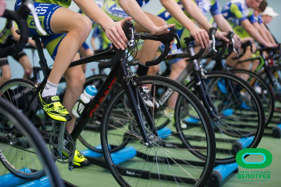 Київський велотрек відкриють дводенними змаганнями