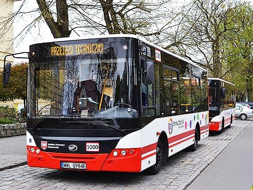 Українські автобуси працюватимуть у Польщі