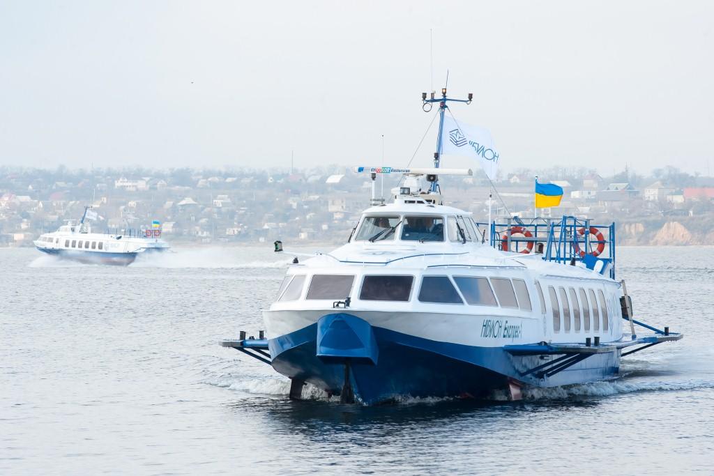 «NIBULON» vidkryv reguljarni ričkovi pasažyrśki perevezennja na pivdni Ukraїny