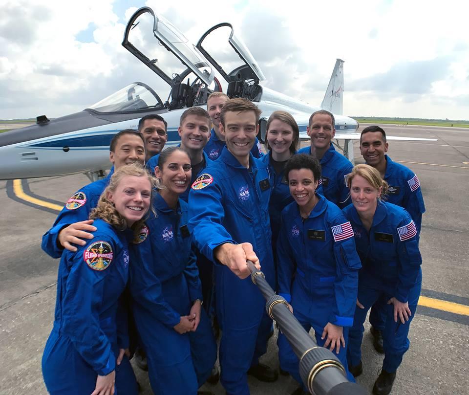 Команда NASA поповнилася 12 астронавтами