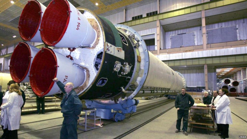 «Pivdenmaš» vygotovyť 12 raket dlja «Morśkogo startu»