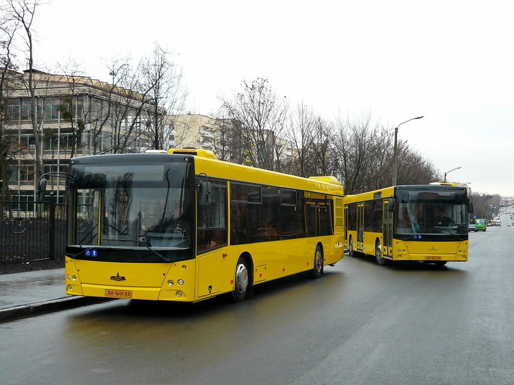 100 автобусів МАЗ поповнять автопарк столиці