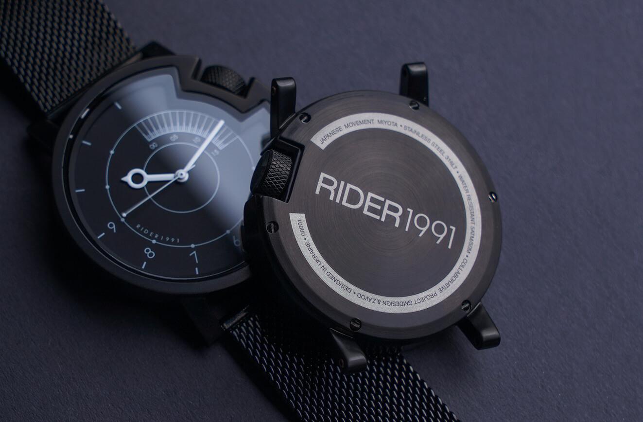 Український годинник RIDER зібрав $27 тис на Kickstarter
