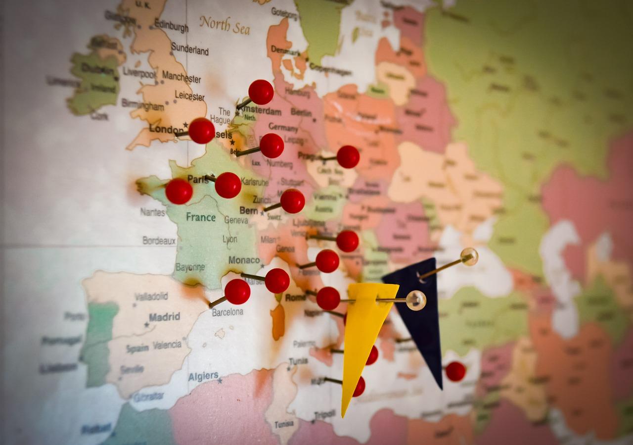 Ukraїneć vyrušyť u podorož pišky kraїnamy JeS, maje namir zdolaty 1,5 tys km