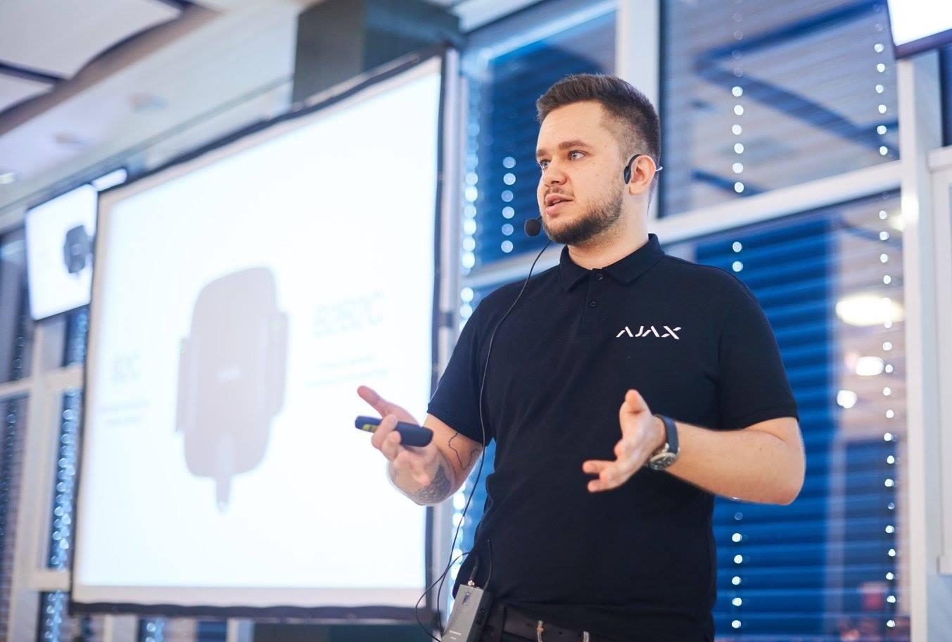 Валентин Гриценко, Ajax Systems: «Не варто заощаджувати на безпеці»