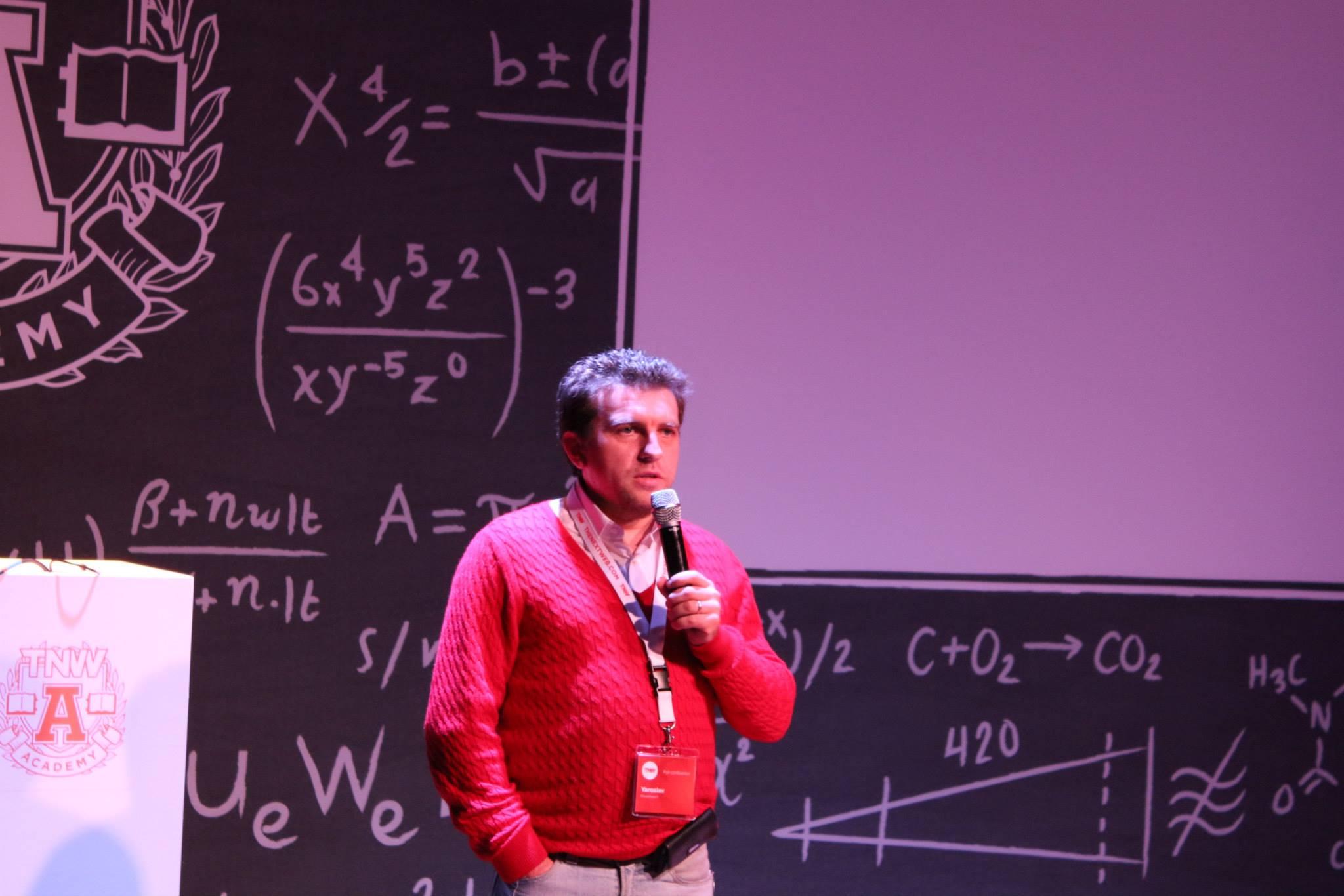 Jaroslav Maksymovyč, 2Event: «Mysliť globaľno zi startu»