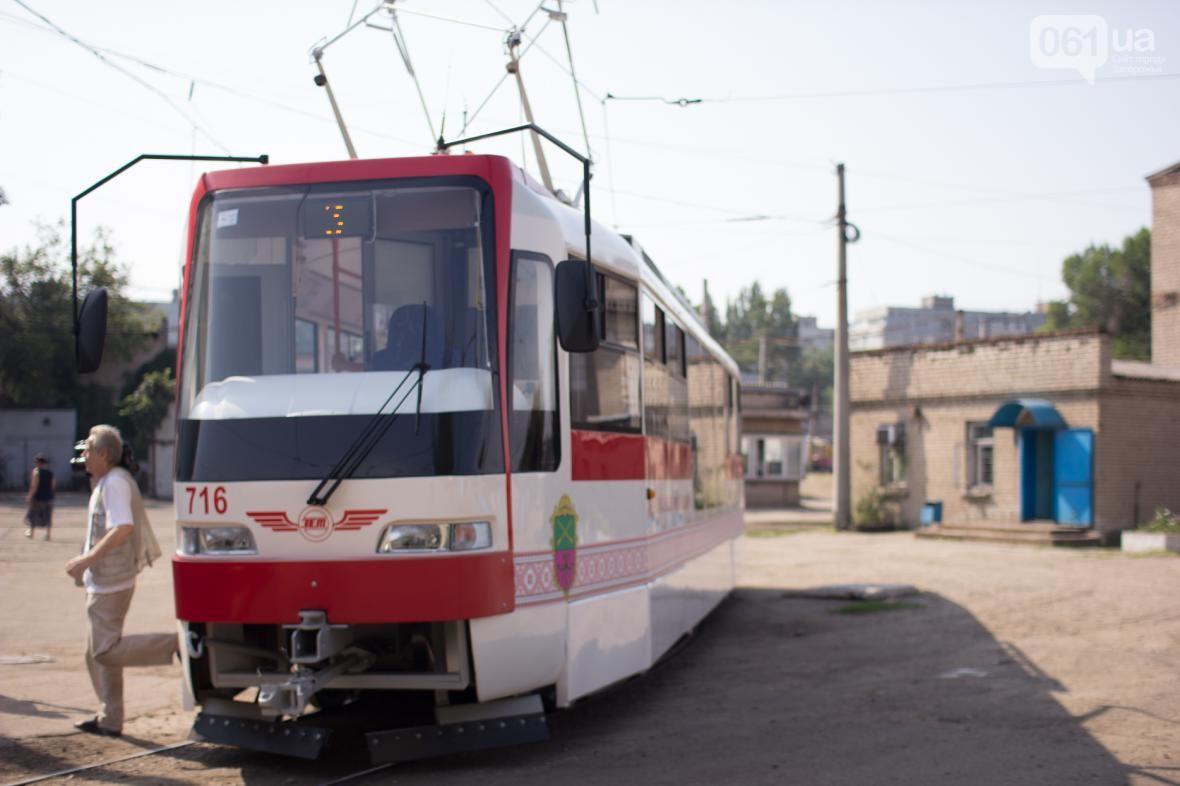 Peršyj zaporiźkyj tramvaj vyjšov na maršrut