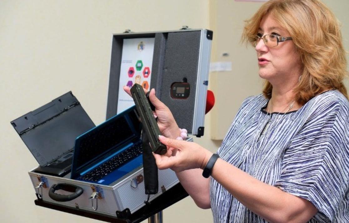 U Dnipri zapustyly peršyj v Ukraїni mobiľnyj CNAP