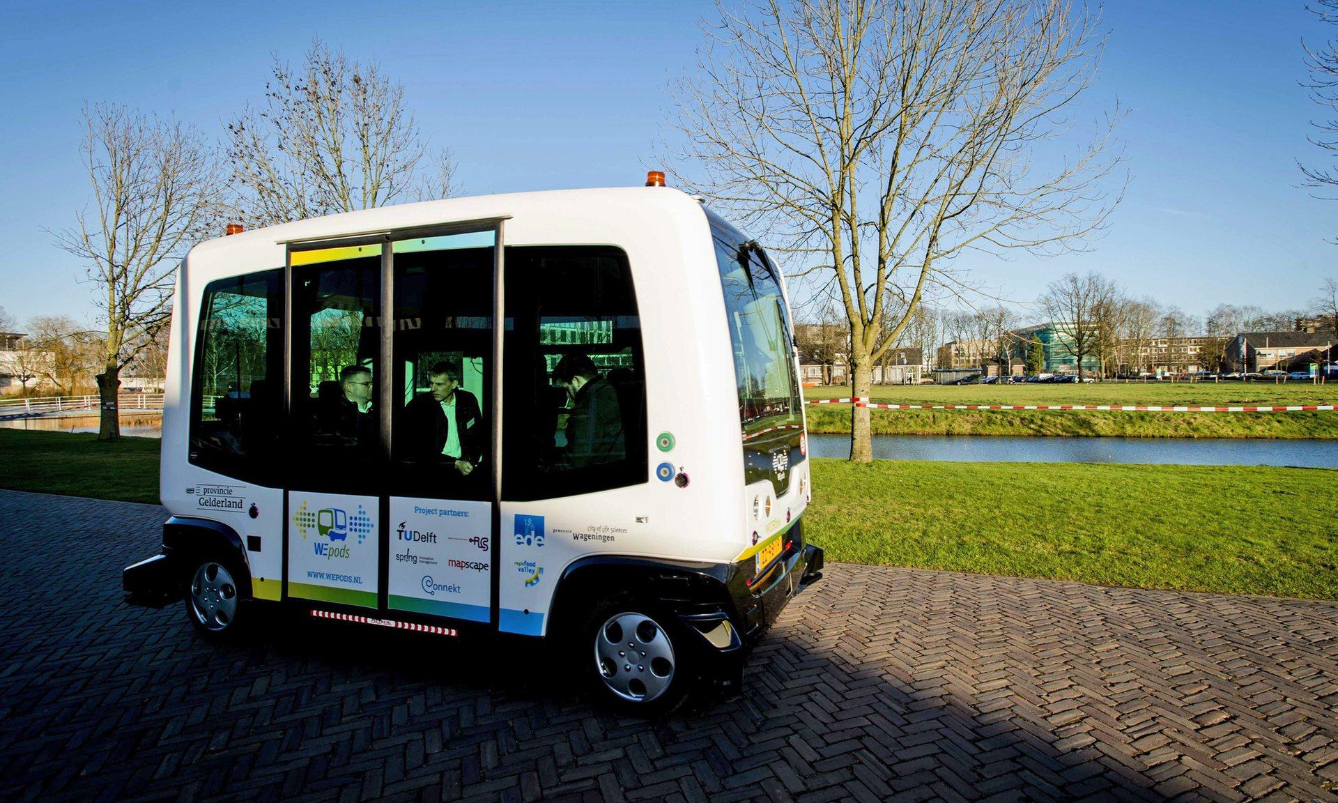 В Естонії з'явиться безпілотний громадський транспорт