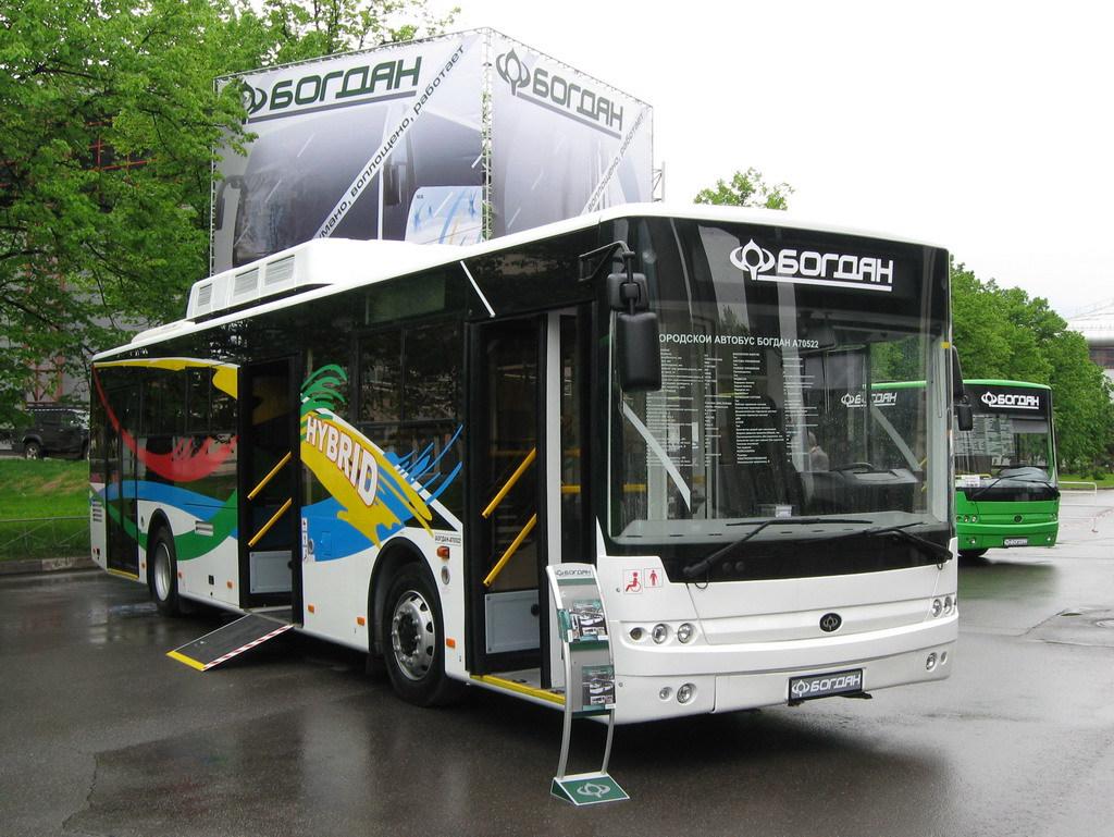 V Ukraїni vypuskatymuť gazovyj avtobus «Bogdan»