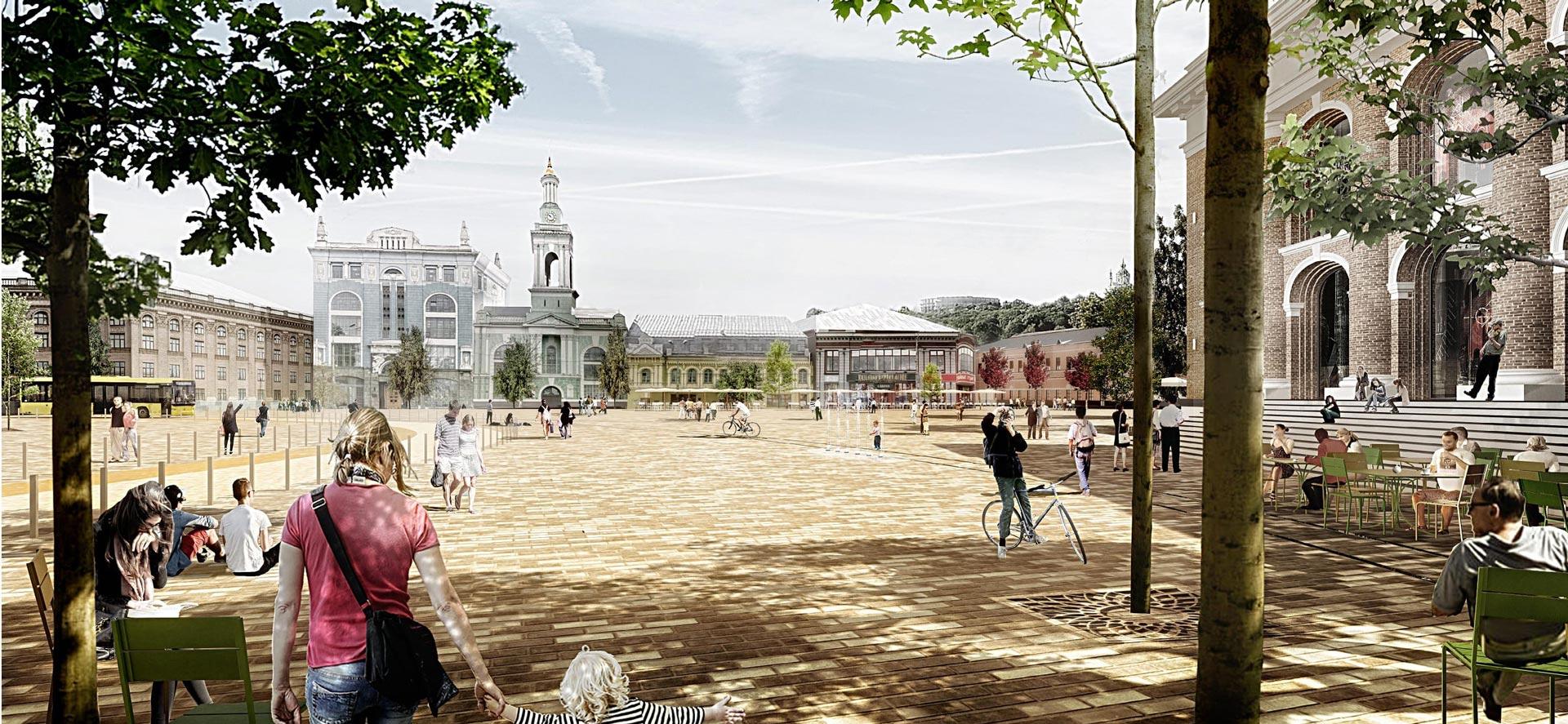 У столиці з серпня створять нову пішохідну зону