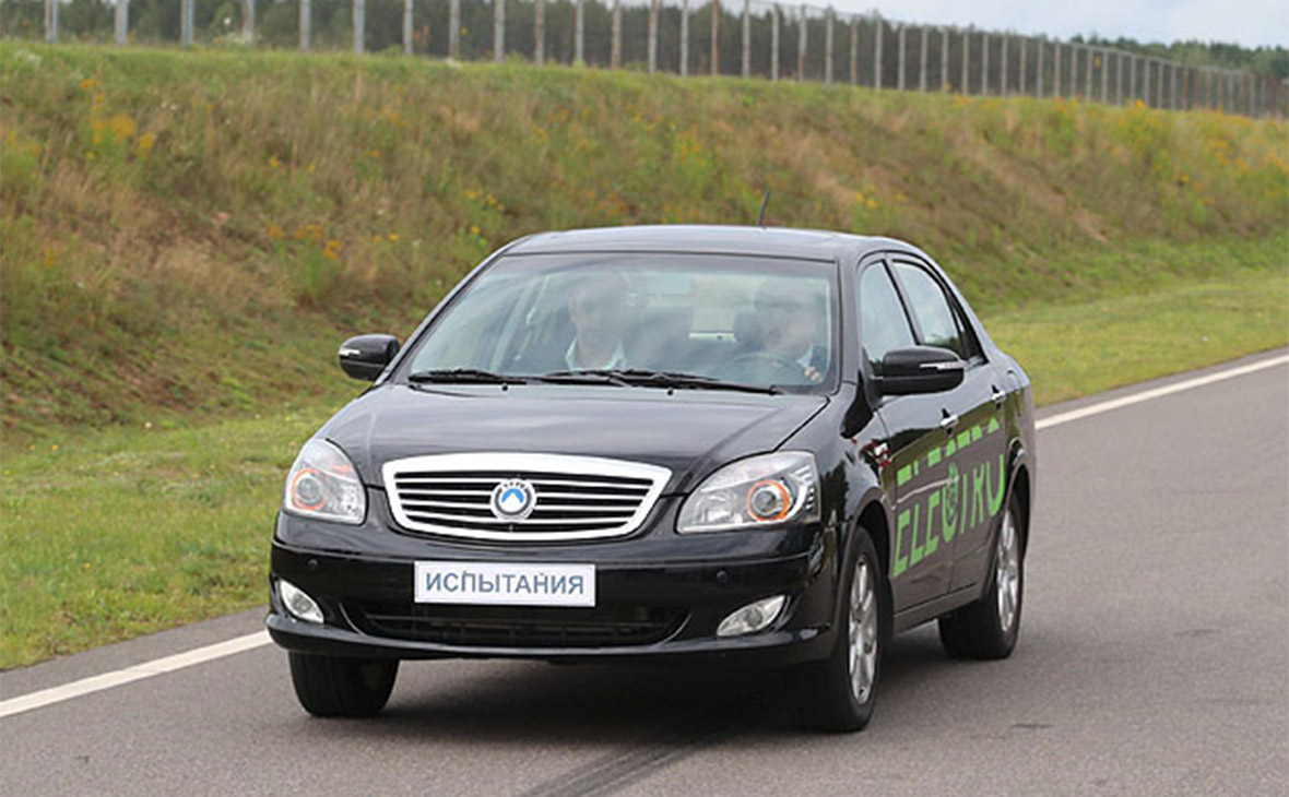 U Bilorusi prezentuvaly vlasnyj elektromobiľ
