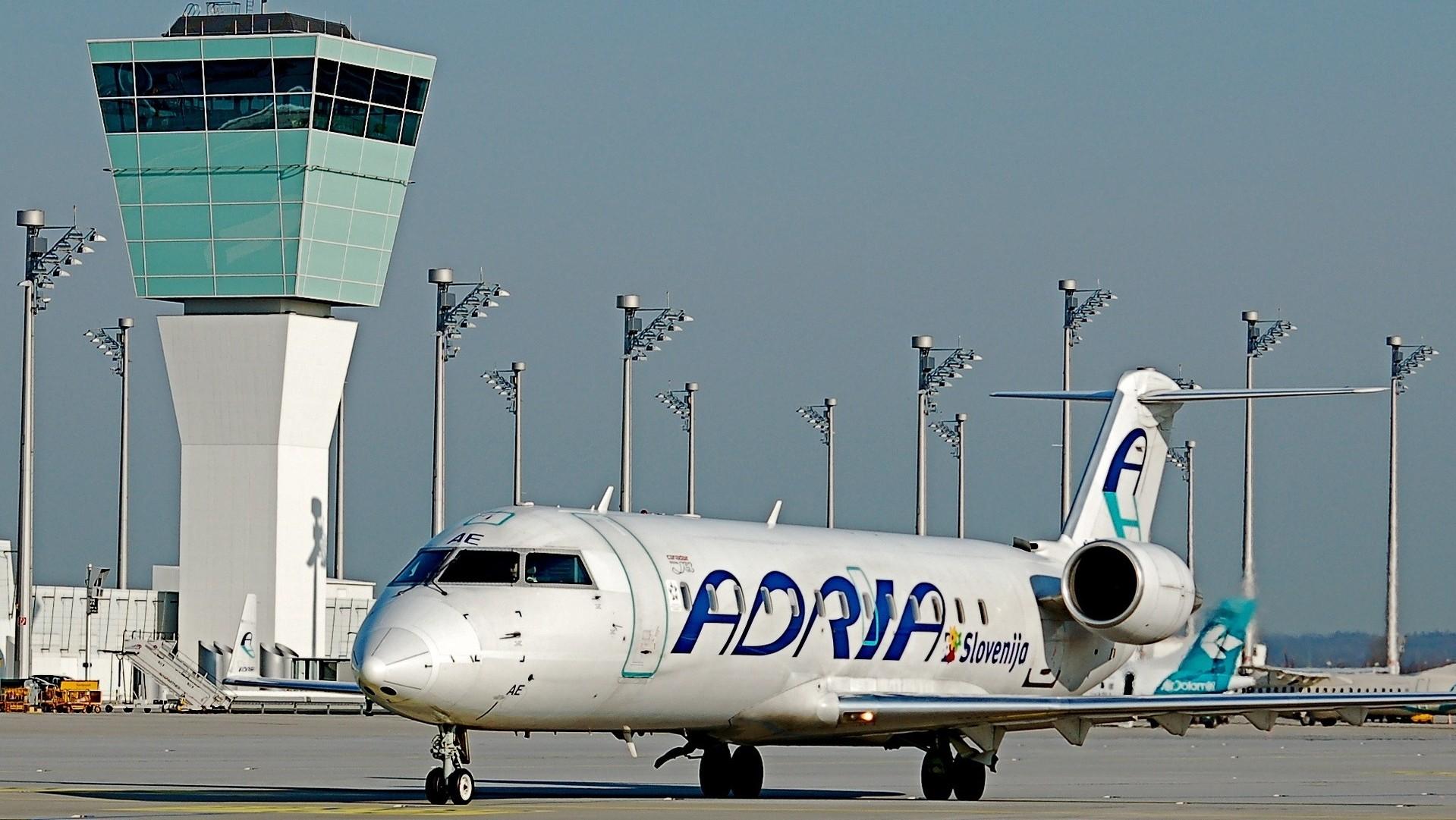 Adria Airways планує відновити польоти в Україну