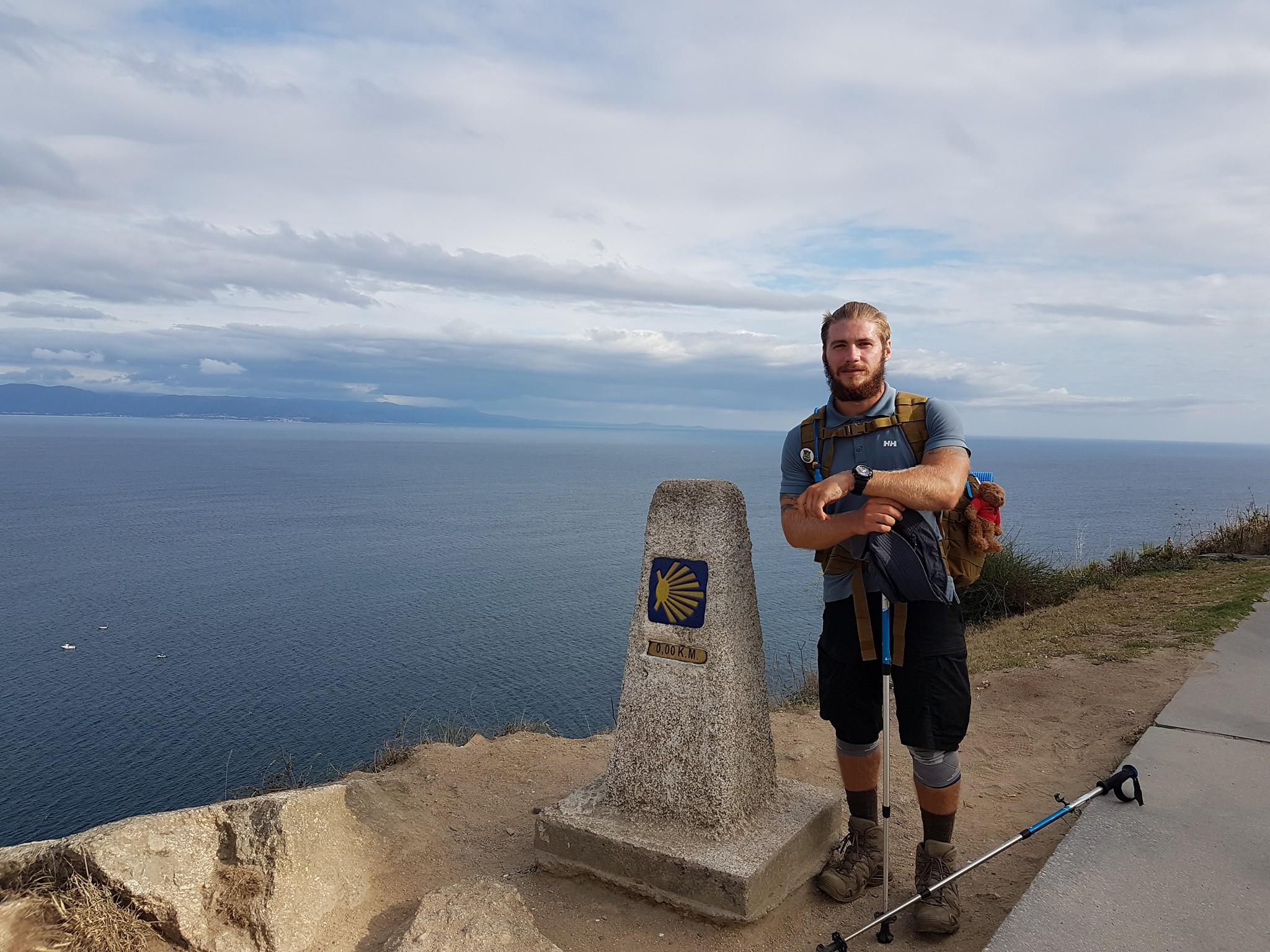 Український турист «перевірив безвіз» і пройшов пішки 1,8 тис км Європою