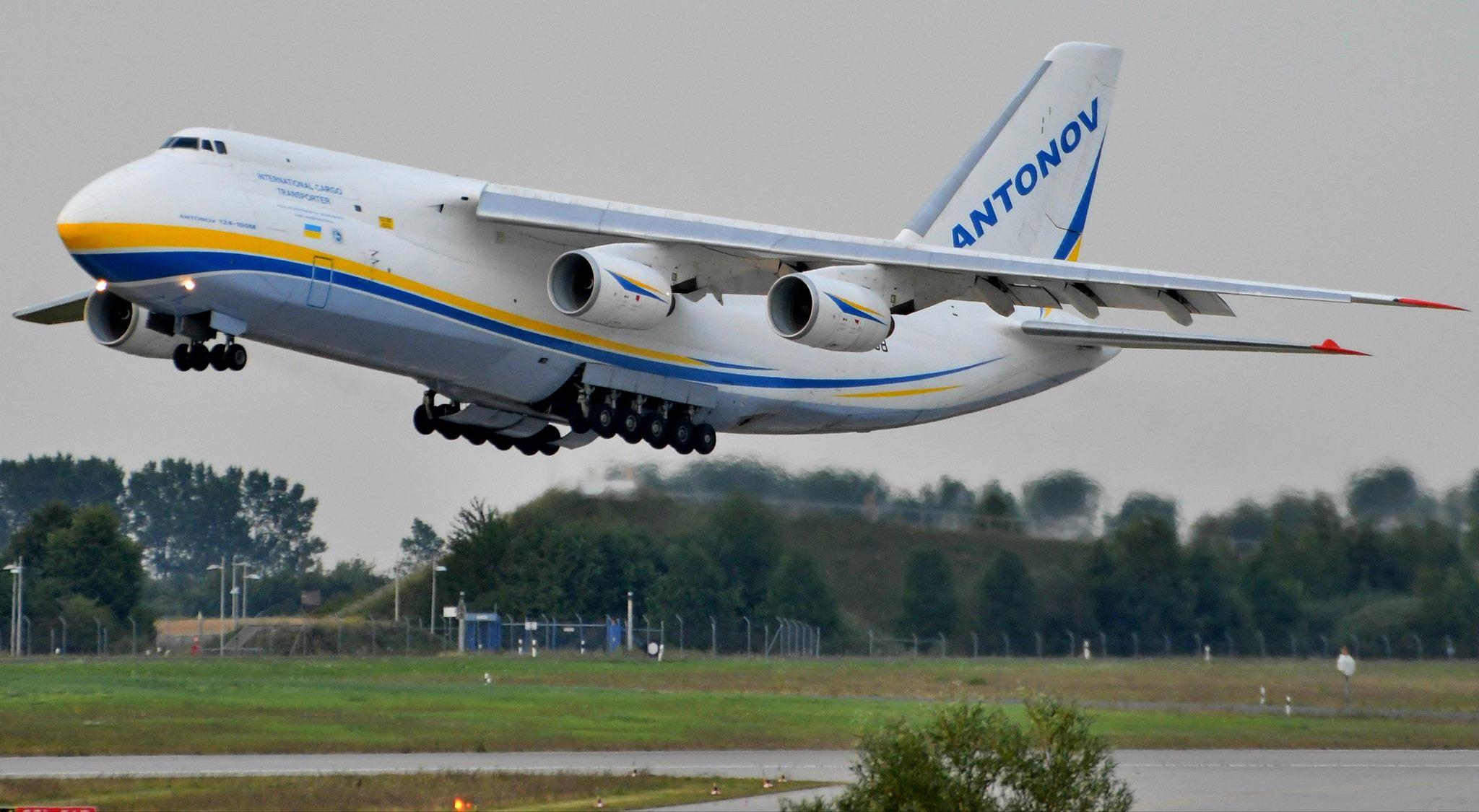 Український літак «Антонов» здійснює навколосвітню подорож