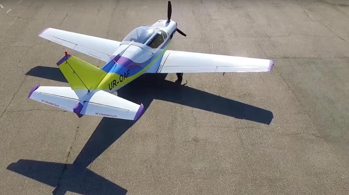 Одеський авіаційний завод презентував новий літак