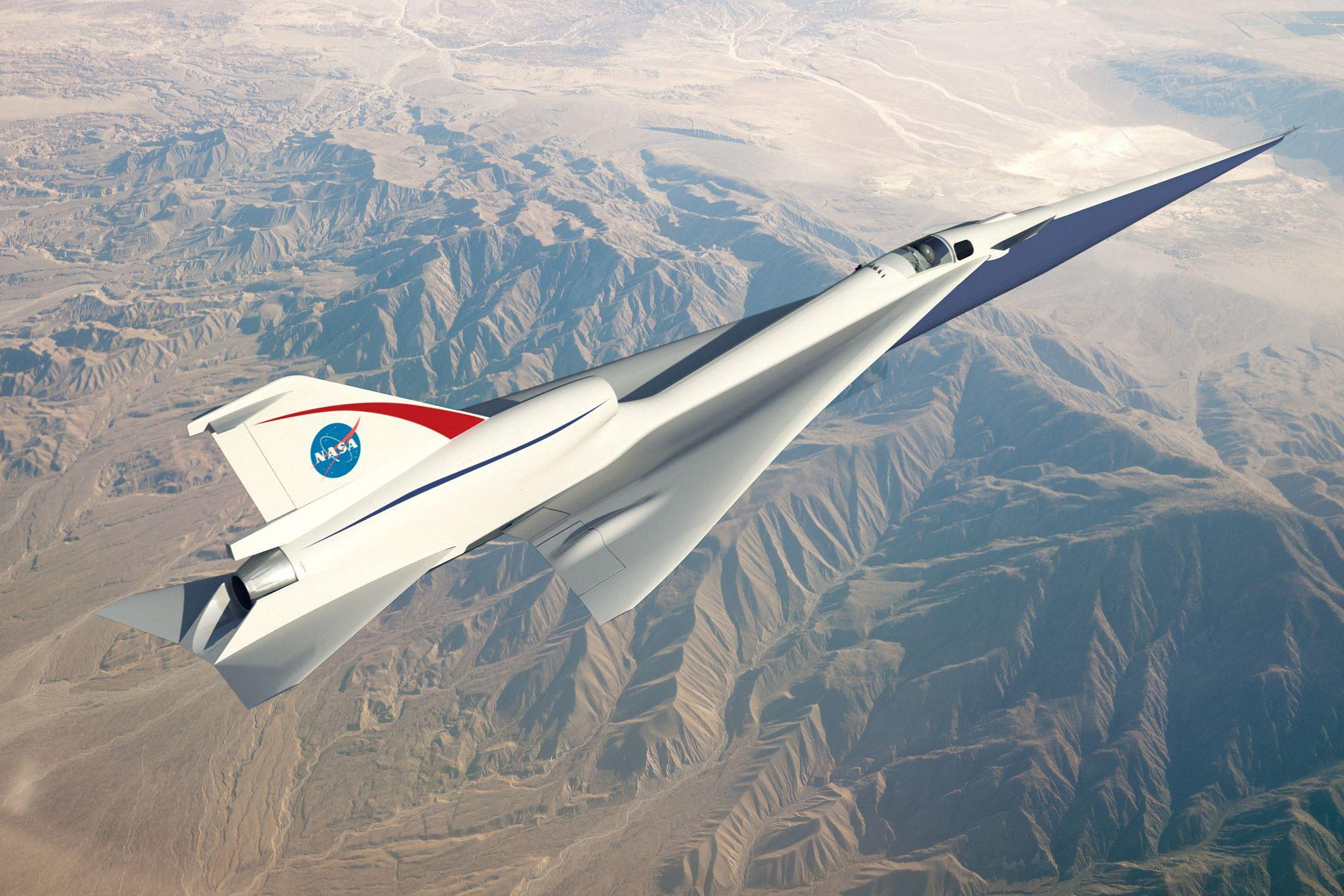 NASA тестує новий надзвуковий літак