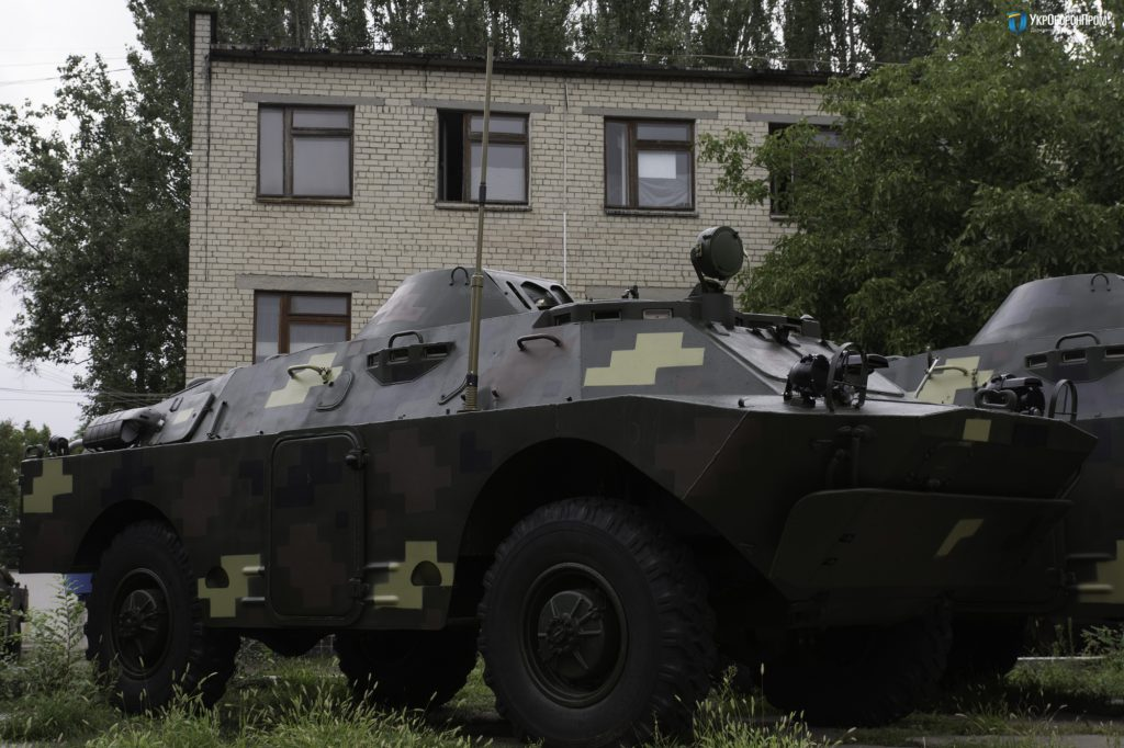 «Укроборонпром»модернізував партію бронемашин для ЗСУ