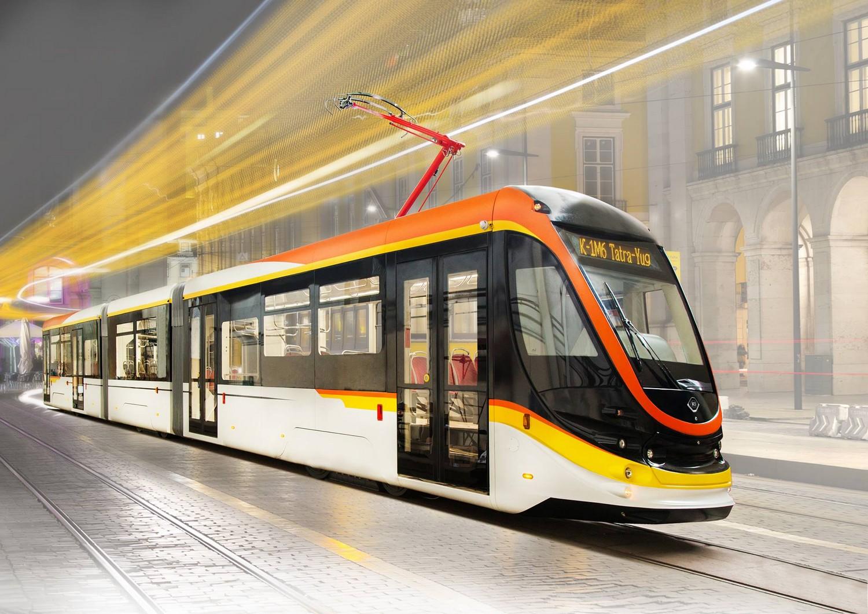 Одеський низькопідлоговий трамвай випробовують у Кам'янському