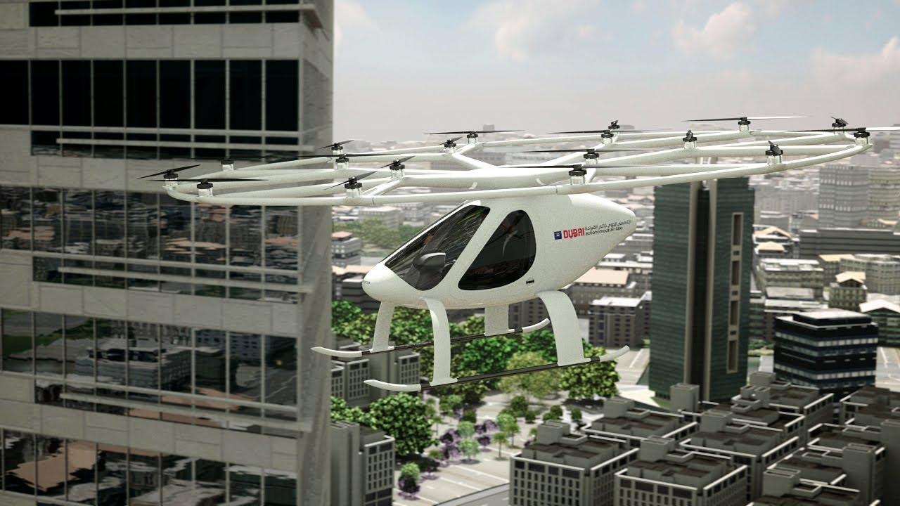 У Дубаї пройшли тестові польоти безпілотного літаючого таксі