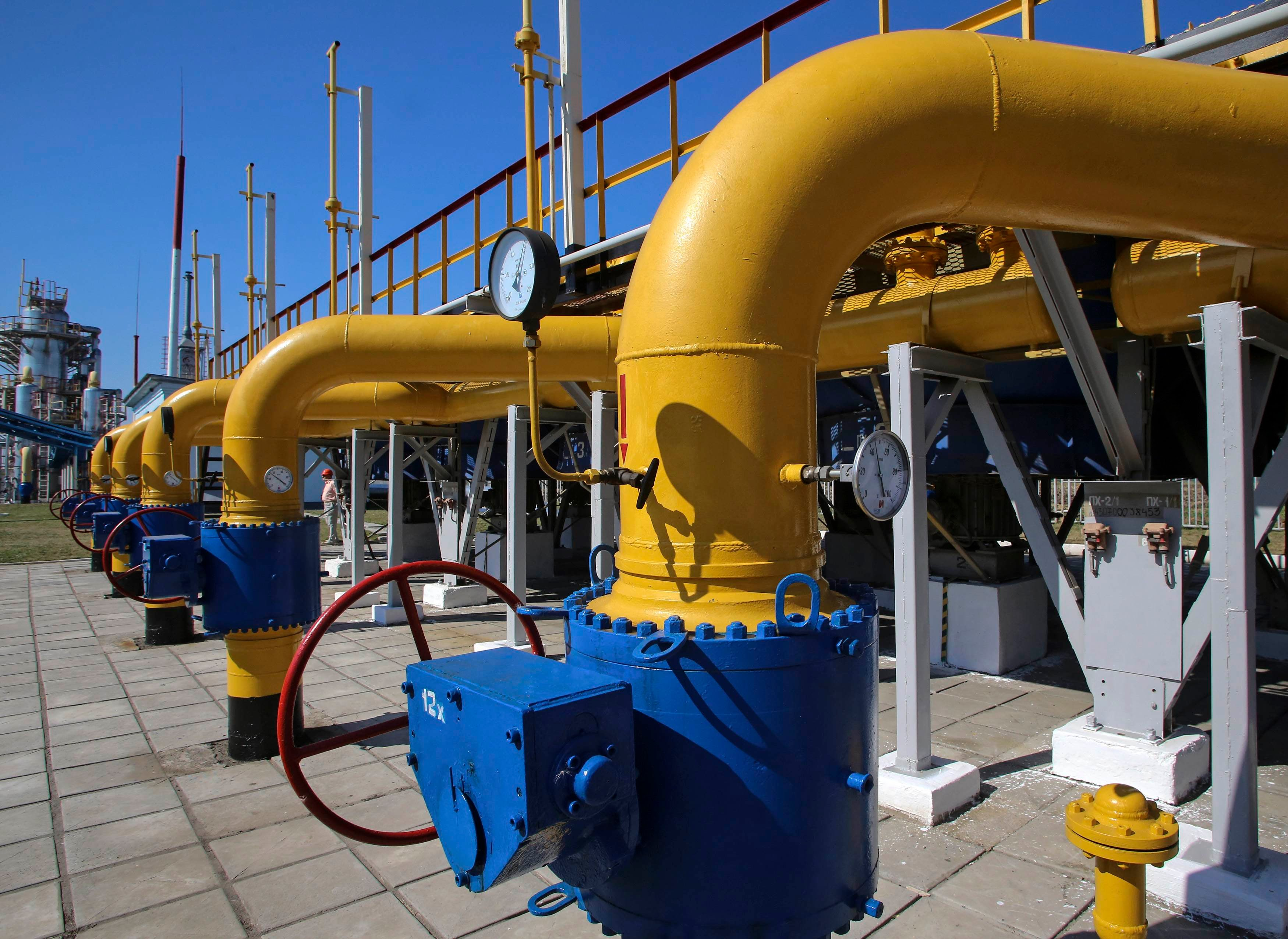 «Naftogaz Ukraїny» u 2017 roci na 23% zbiľšyv tranzyt gazu