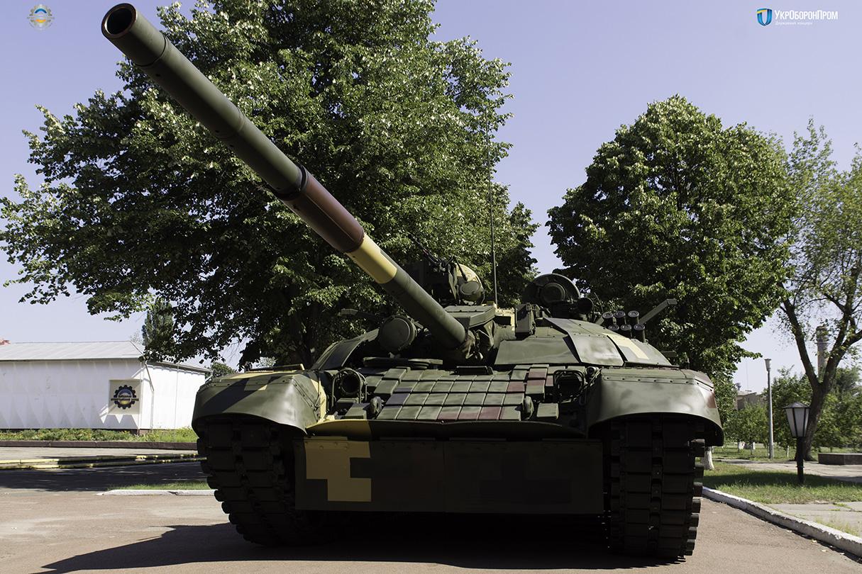 Modernizovanyj ukraїnśkyj tank predstavyly na vystavci MSPO-2017
