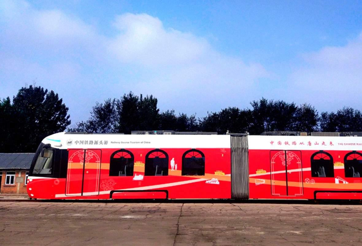 Китай запустив перший у світі трамвай, що працює на водні