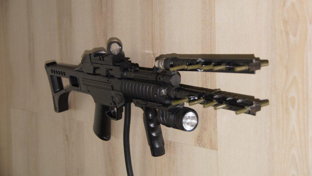 V Ukraїni predstavyly portatyvnu zbroju dlja protydiї bezpilotnykam