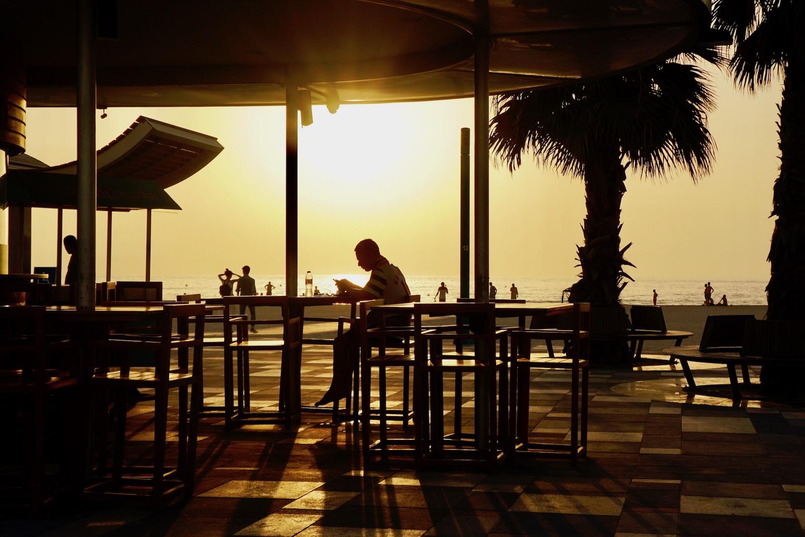 Uljublenyj pljaž rezydentiv mista — Kite Beach