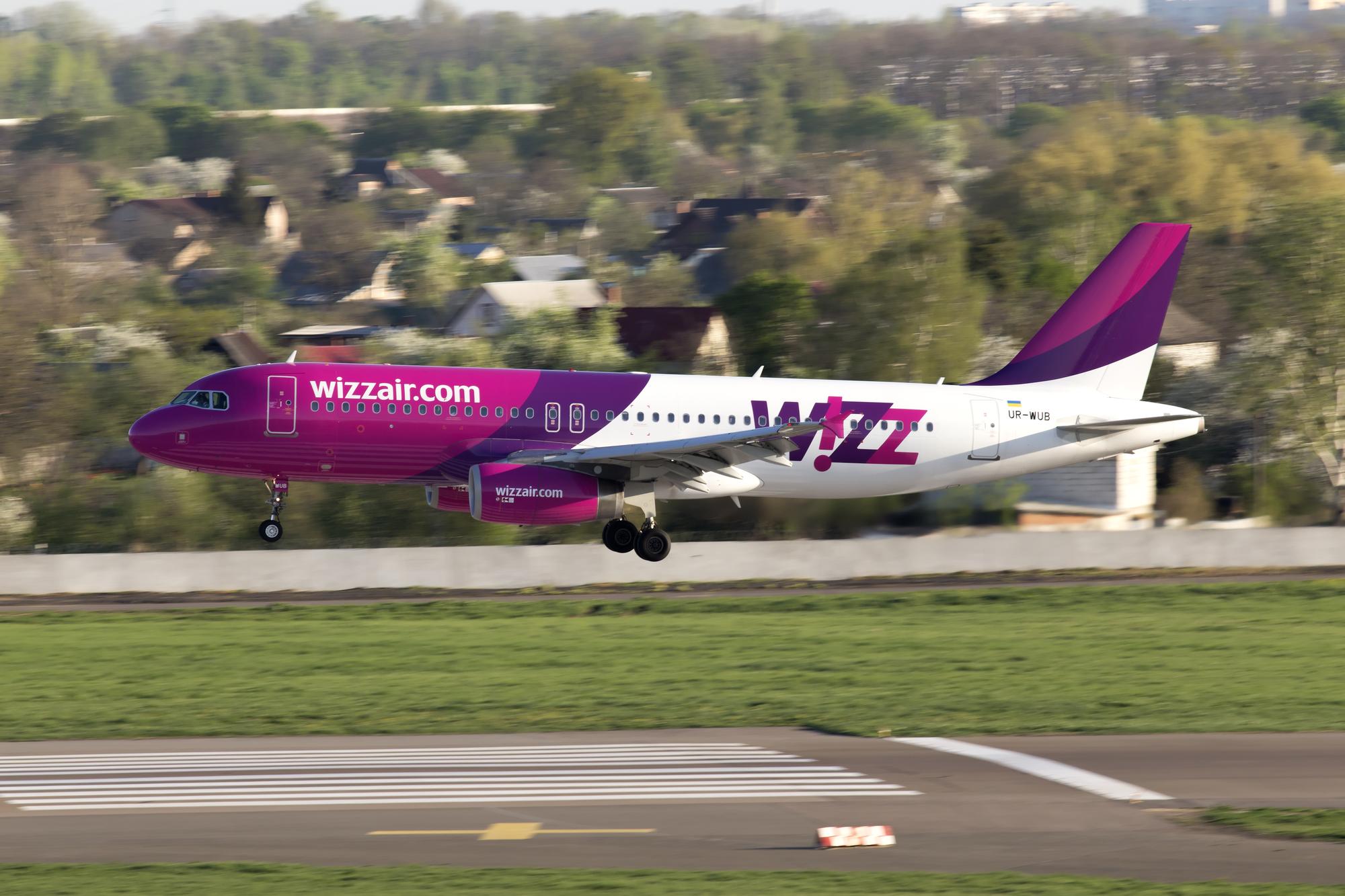 Wizz Air povertajeťsja u velykyj ukraїnśkyj aeroport