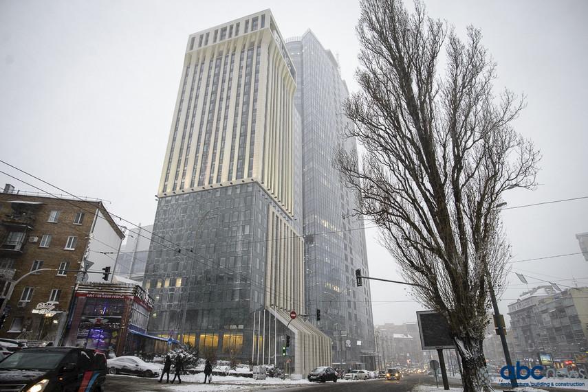 У Києві відкрили готель-хмарочос