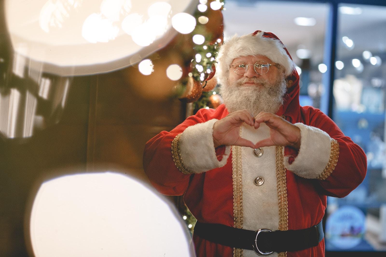 VPS SŠA dajuť zmogu usim ohočym vidstežyty ruh Santa-Klausa