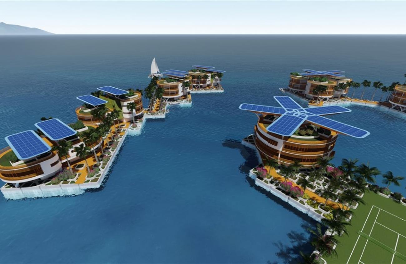 Сингапурський стартап до 2020 року побудує село в океані