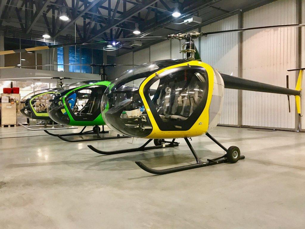 В Україні розпочали виробництво легких гелікоптерів