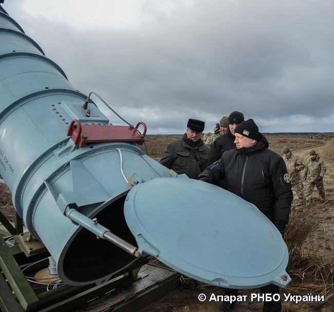 V Ukraїni vperše vyprobuvaly krylatu raketu