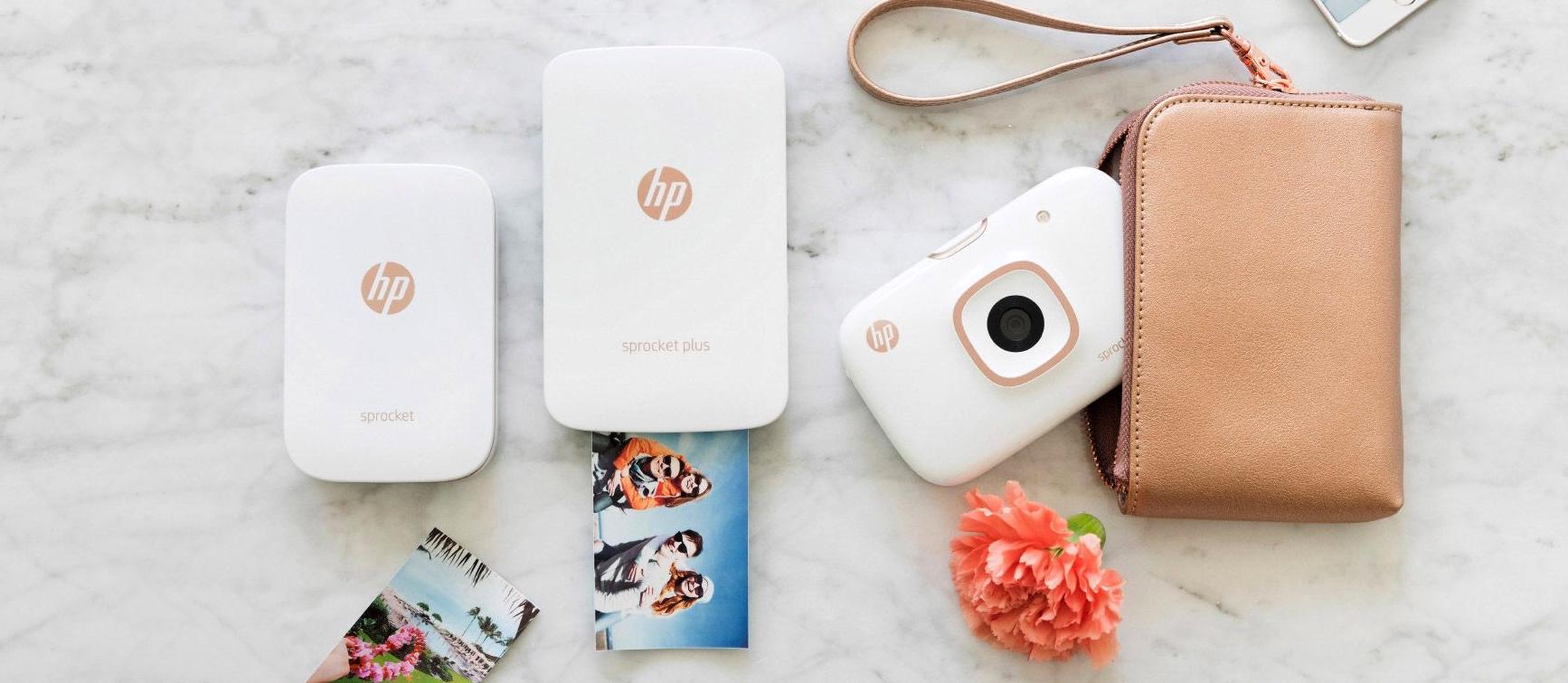 HP показала нове покоління кишенькових принтерів, які друкують фото без чорнил
