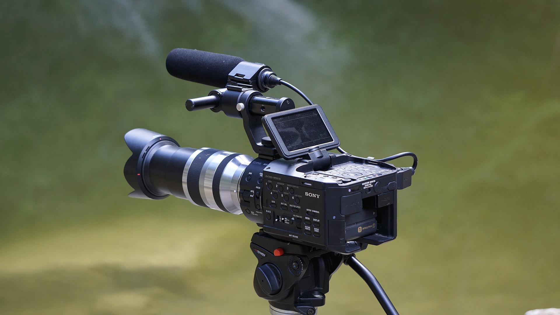 V Amsterdami prezentuvaly videokameru, jaka zapysuje mynule