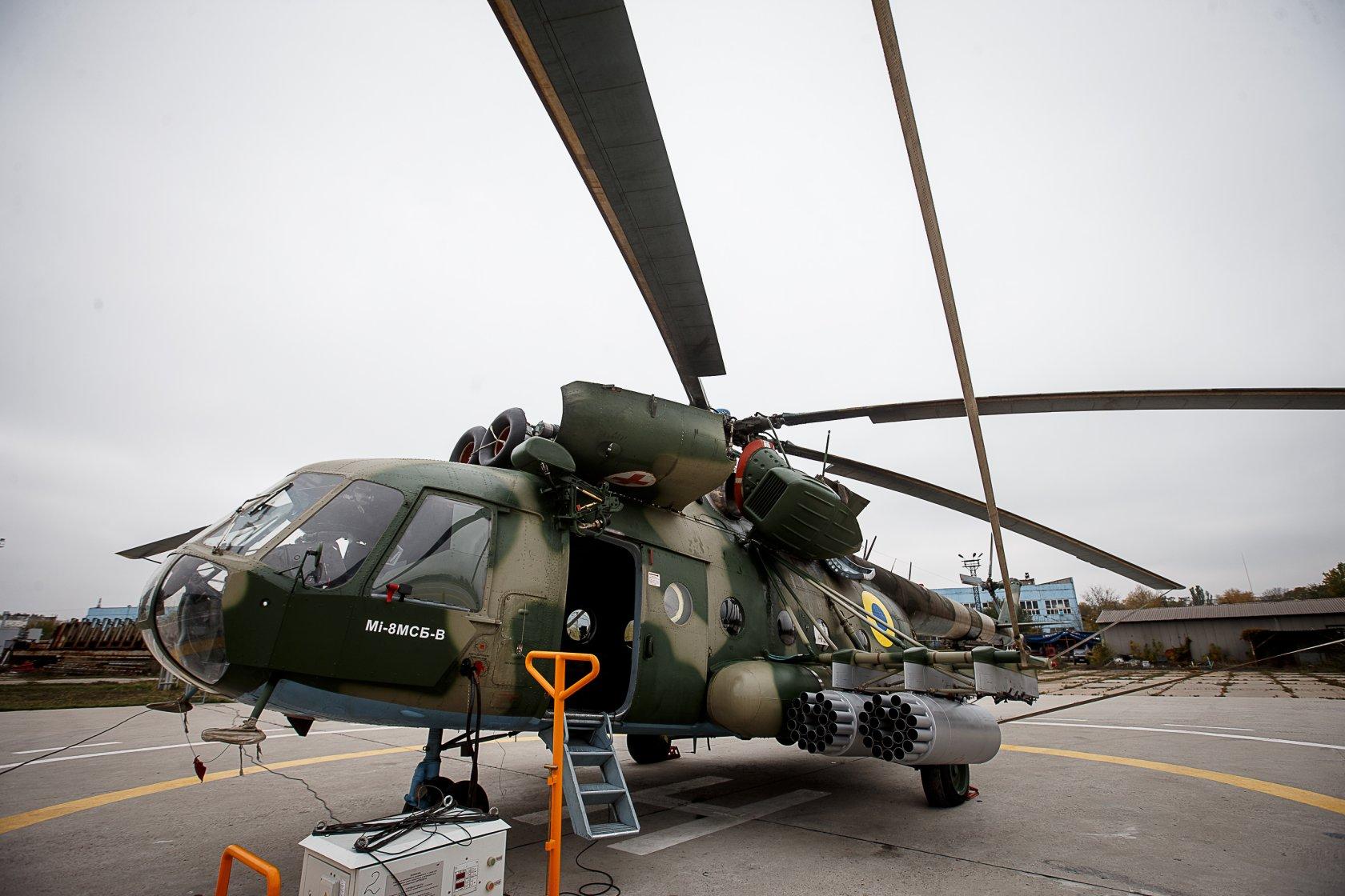 Ukraїnśkyj servisnyj centr iz remontu gelikopteriv vidkryly u Bangladeši