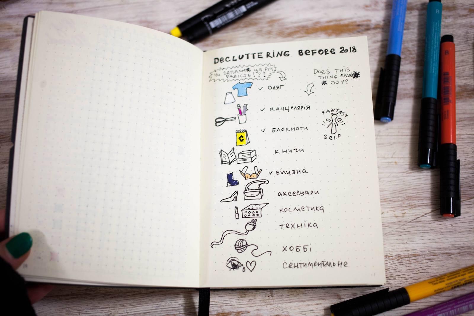 Що таке bullet journal і як він допоможе вам упорядкувати життя