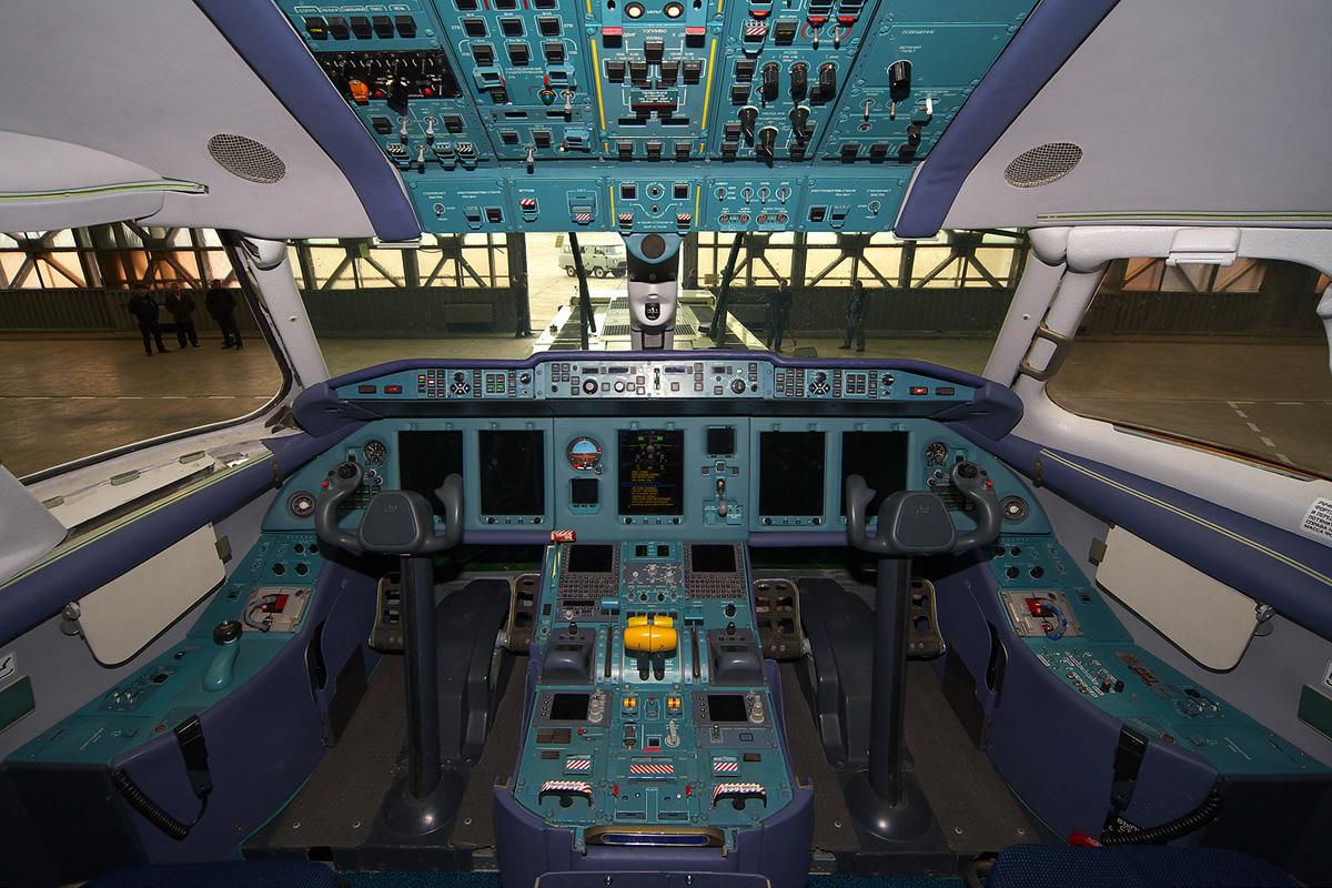 An-158 komplektuvatymuťsja ukraїnśkym obladnannjam
