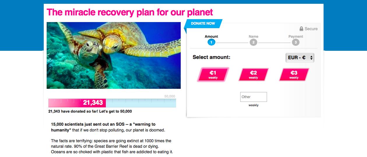 Колективне фінансування на Avaaz