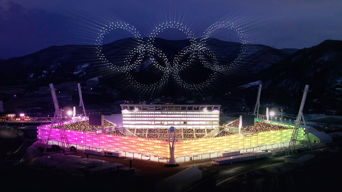 Video dnja: Jak Intel zapustyla 1,2 tys droniv do vidkryttja Olimpiady