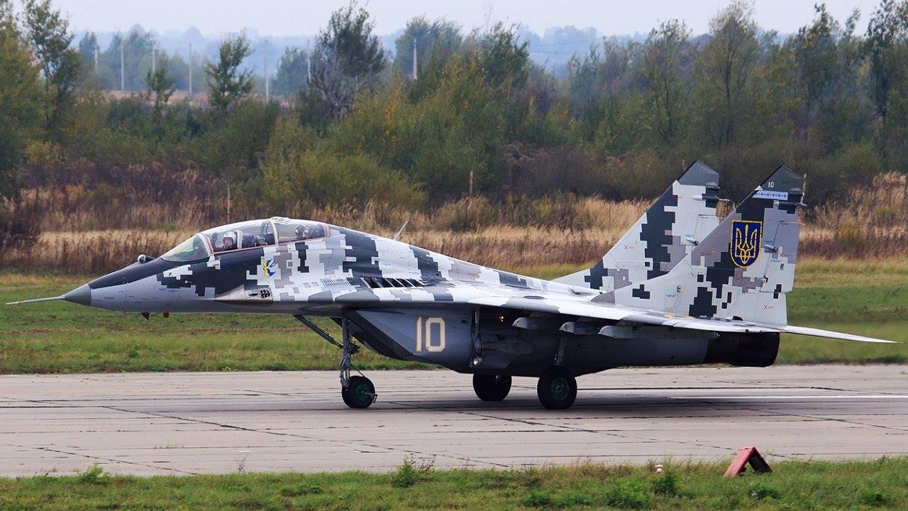 V Ukraїni modernizovuvatymuť MiG-29
