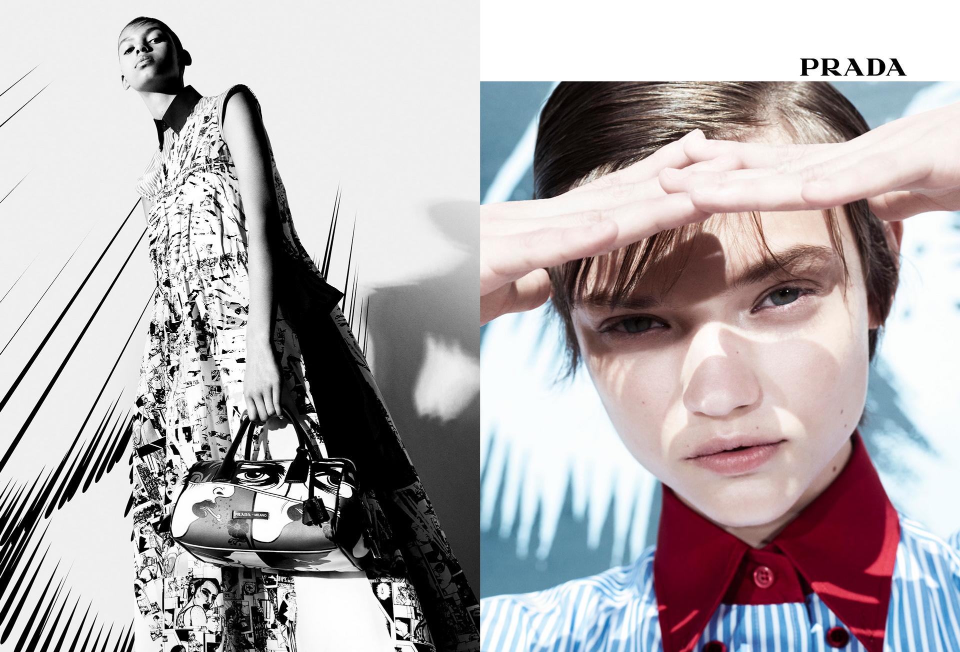 Українка стала обличчям бренду Prada