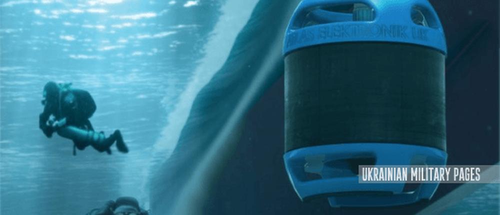 Розробляють мобільний сонар для виявлення підводних диверсантів