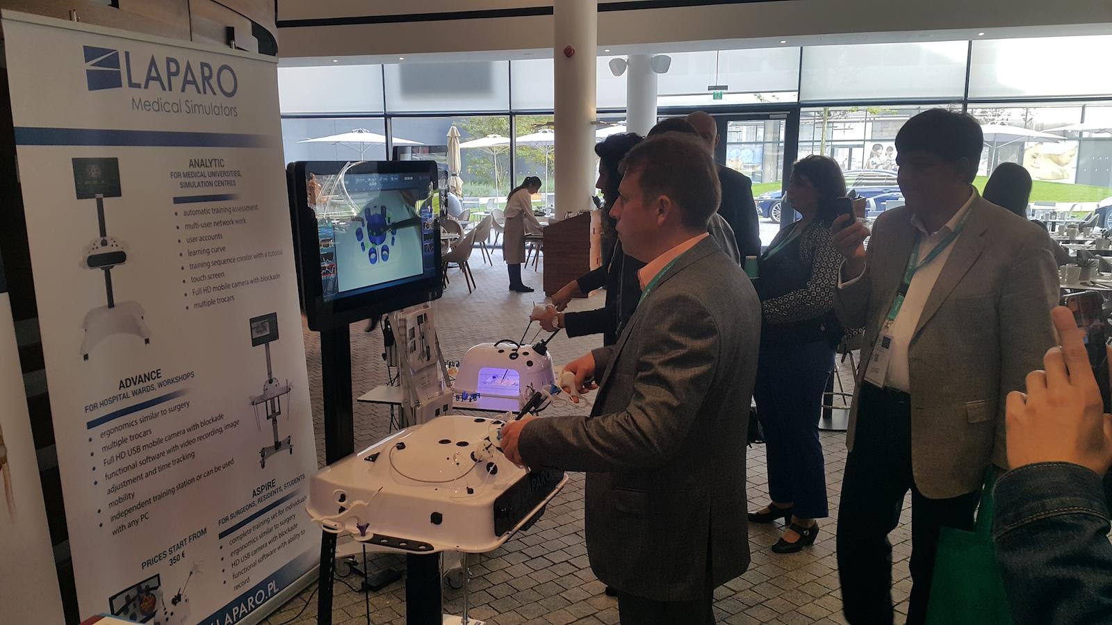 Як польські винахідники змінюють лікарняну практику симуляторами Laparo